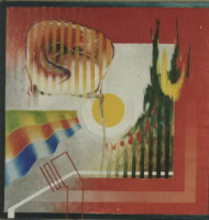 1986 'red/yellow/blue' 100x100cm olieverf/linnen