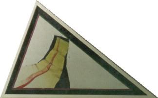 "1982 ""horizon"" 48/77cm olieverf/linnen/hout"