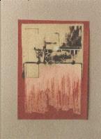 1989 'douche1' 60/45cm print/paint