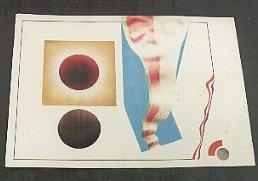 "1984 ""compositie vlag"" 70/100cm gouache/potlood"